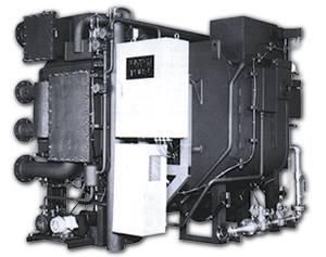 Абсорбционный чиллер/нагреватель прямого нагрева