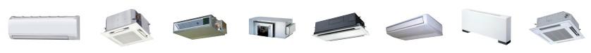 Широкий выбор моделей внутренних блоков Panasonic ECOi