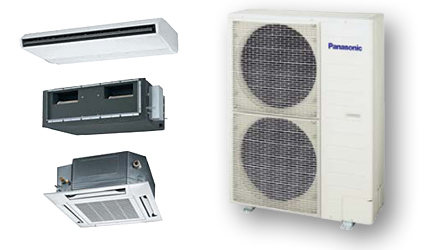 Цены на полупромышленные кондиционеры Panasonic