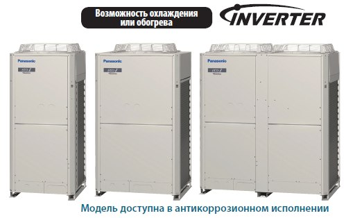 VRF кондиционеры Panasonic 2-WAY  ECO i ME1
